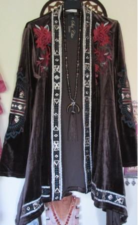 Kimono terciopelo SisiChic