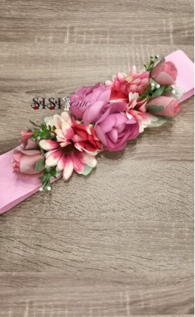 Cinturones Flores Rosa...