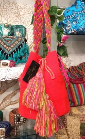 Bolso Wayuu  Naranja SisiChic